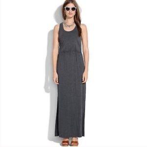Madewell Grey Jersey Maxi Dress